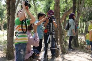 گزارش گشت پرنده نگری کودکان مهدکودک نونهالان به مناسبت هفته محیط زیست