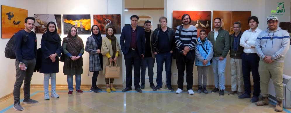 نمایشگاه عکس حیات وحش سیدبابک موسوی